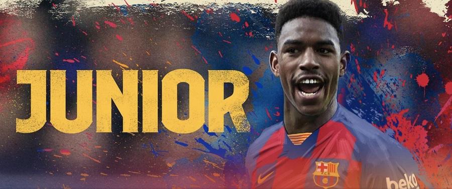 Officiel : Junior Firpo rejoint le FC Barcelone