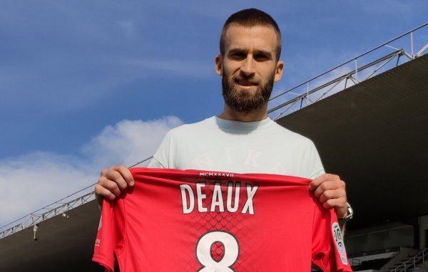 Officiel : Lucas Deaux signe au Nîmes Olympique