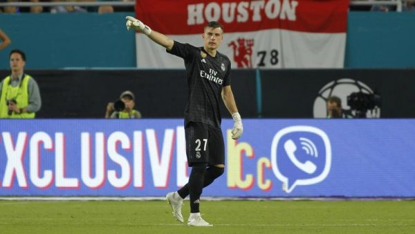 Real Madrid : Andriy Lunin est prêt à revenir !