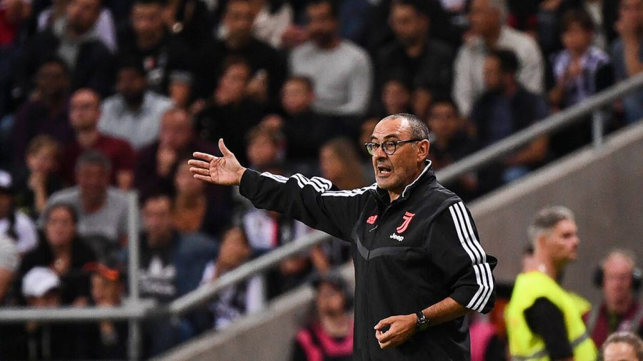 Officiel : Maurizio Sarri ratera les deux premières rencontres de la Juve