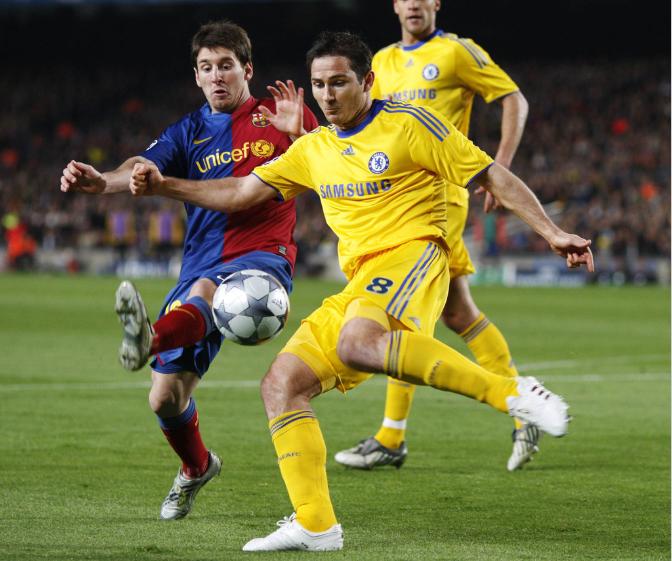Frank Lampard raconte ses souvenirs de Champions League