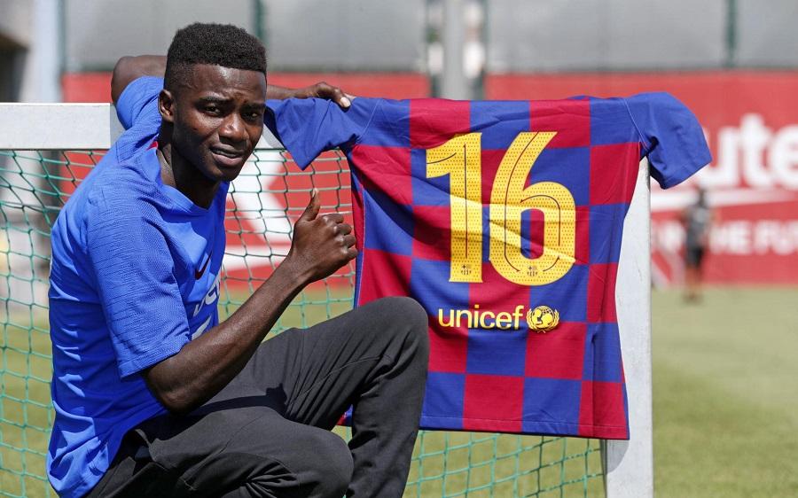 FC Barcelone : Moussa Wague signe son premier contrat pro
