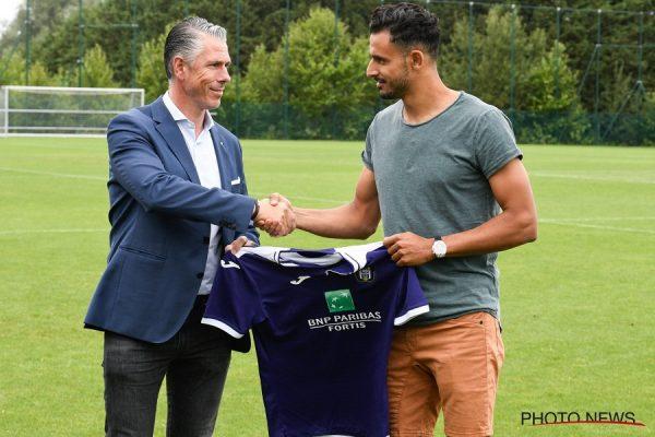 Officiel : Nacer Chadli prêté à Anderlecht