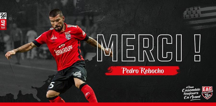 Officiel : Pedro Rebocho quitte Guingamp