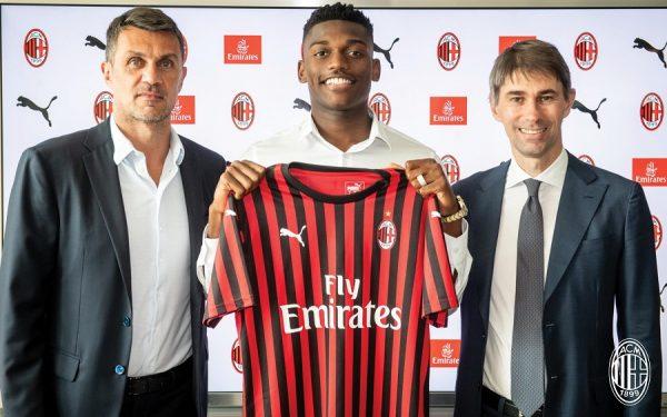 Milan AC : les premiers mots de Rafael Leao