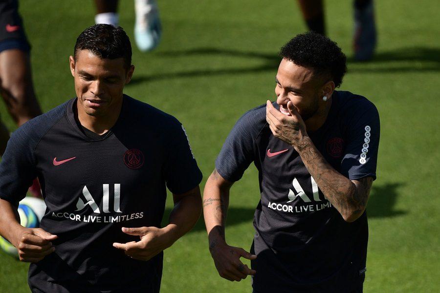 PSG : Edinson Cavani et Thiago Silva ont des touches