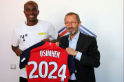 LOSC : trois grands clubs surveillent Osimhen