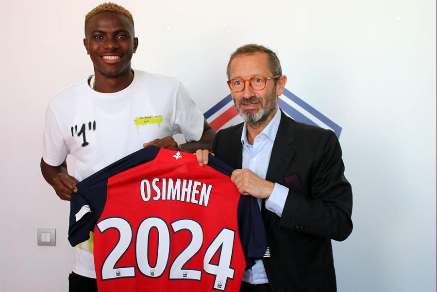 Officiel : Victor Osimhen signe au LOSC