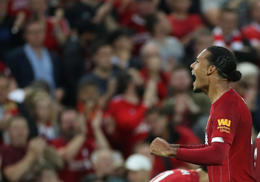 Virgil Van Dijk évoque la course au Ballon d'Or