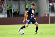 PSG : Adil Aouchiche a 4 touches en Ligue 1