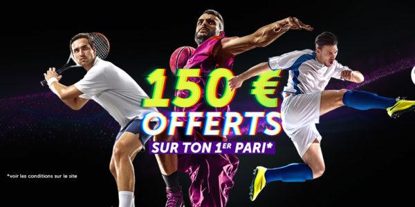 VBet : jusqu'à 150€ offerts avec notre code promo