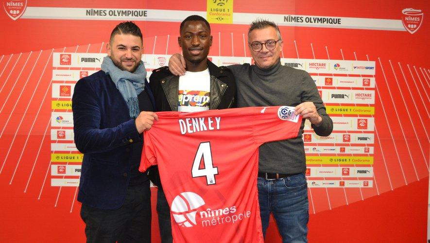 Denkey pourrait quitter le Nîmes Olympique