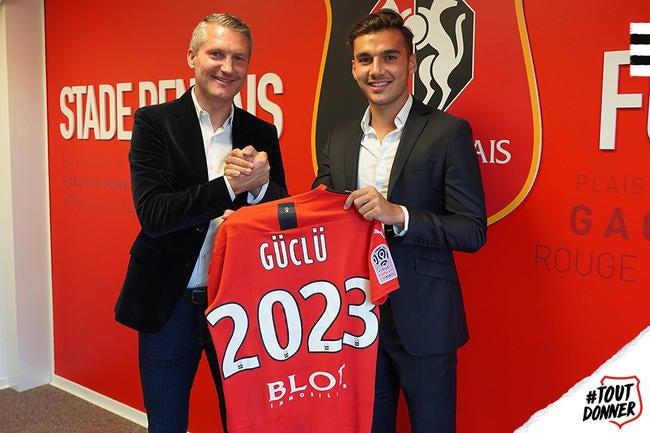 Officiel : le Stade Rennais annonce Guclu