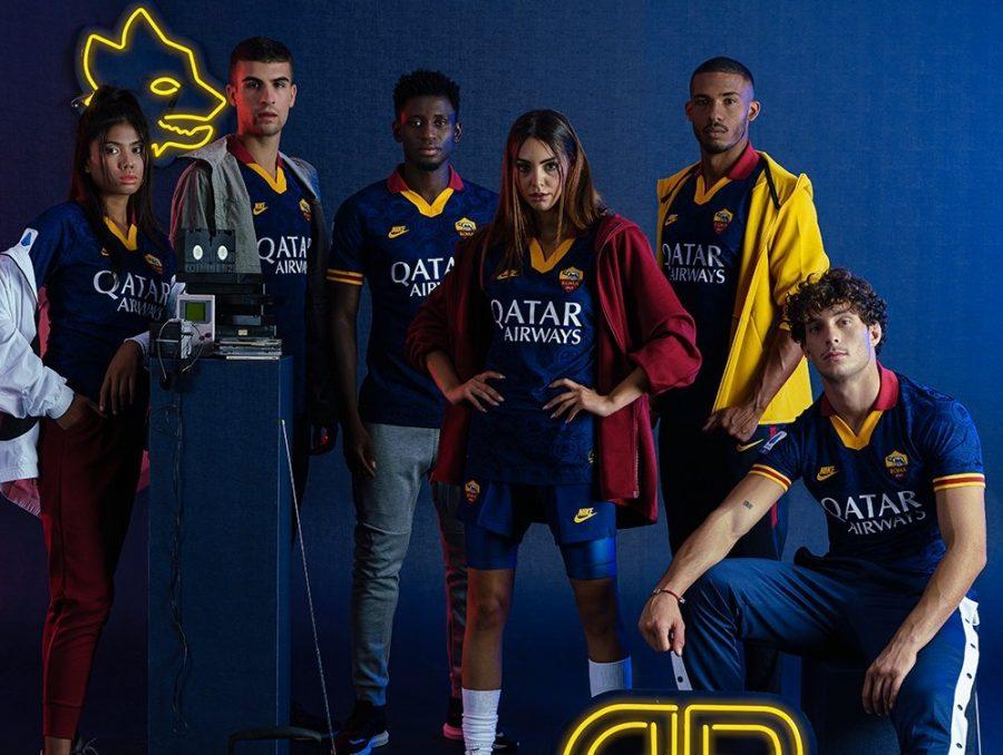 AS Roma : le maillot third 2019/2020 dévoilé