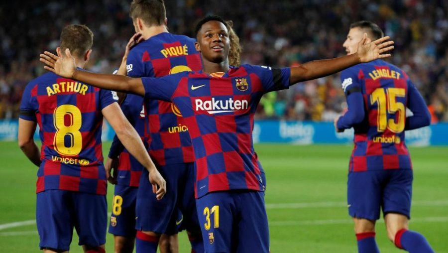 FC Barcelone : au tour du maître d'adouber Ansu Fati