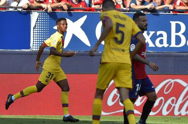 Un club de Ligue 1 voulait Fati