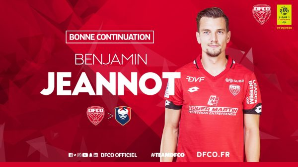 Officiel : Benjamin Jeannot signe en Ligue 2
