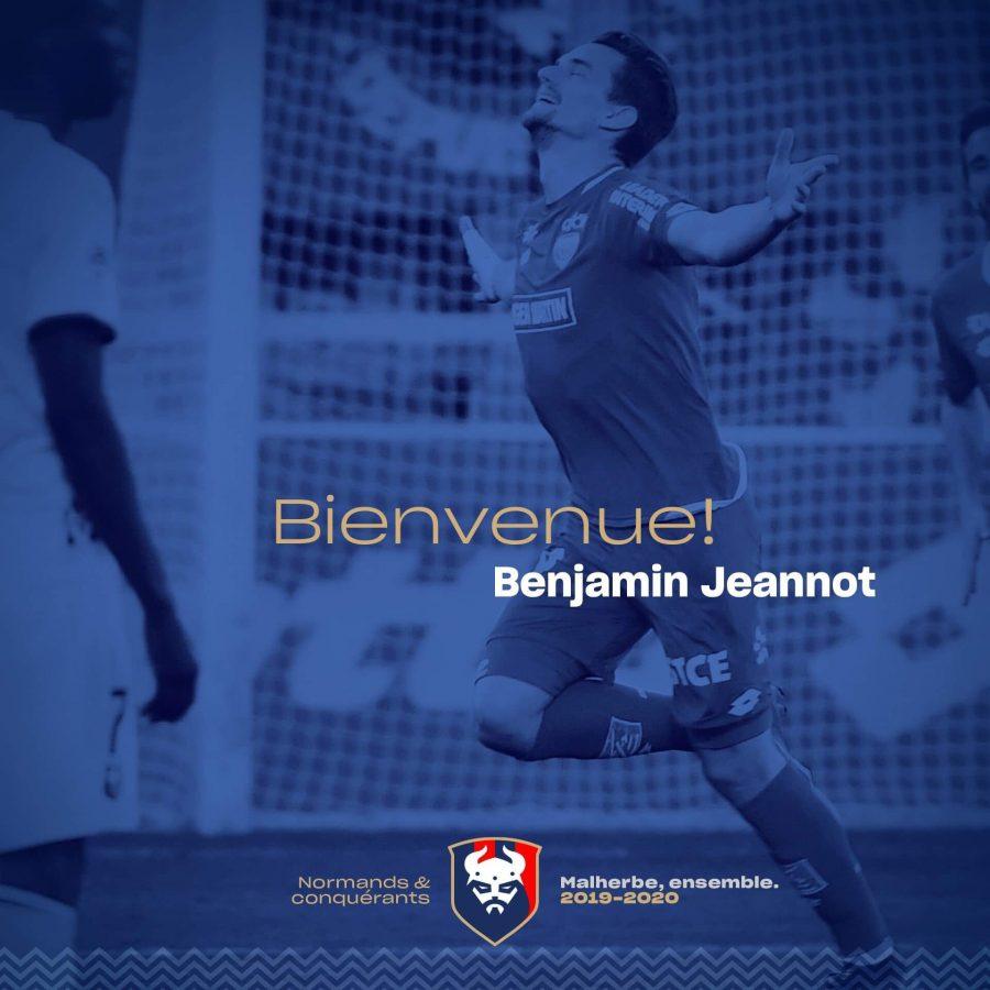 Officiel : Benjamin Jeannot signe en Ligue 2