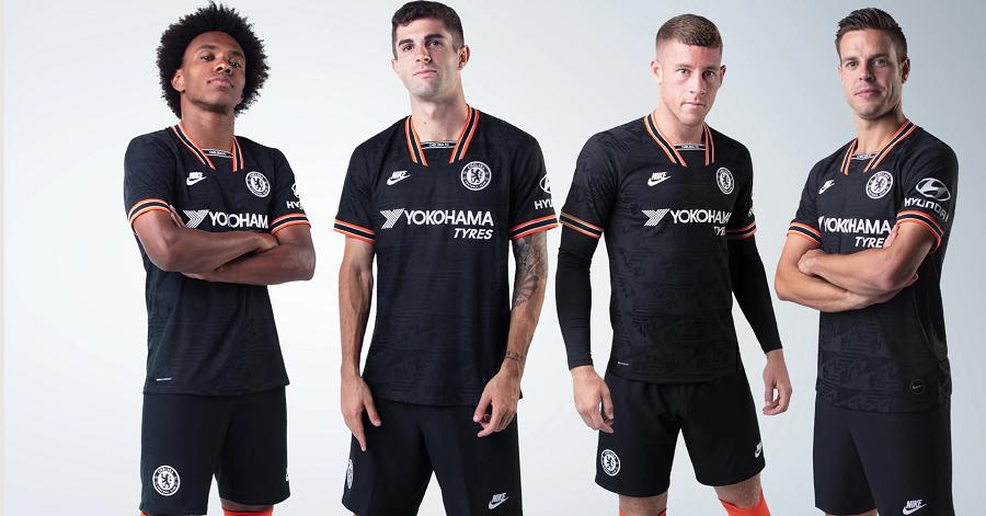 Chelsea : le maillot third 20192020 dévoilé