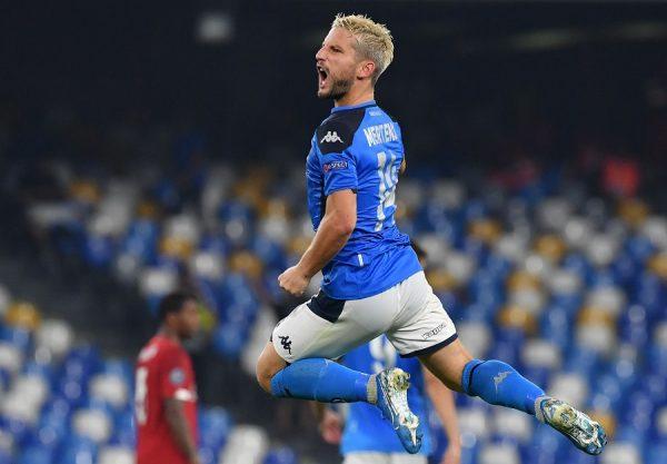 Naples : Dries Mertens intéresse un cador de la Serie A
