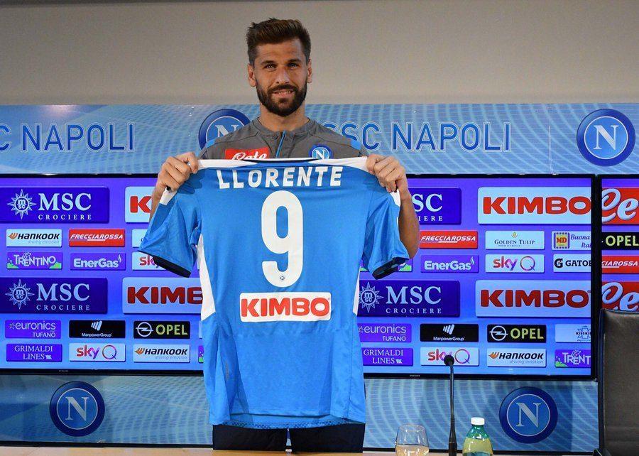 Fernando Llorente se confie sur le choix du Napoli