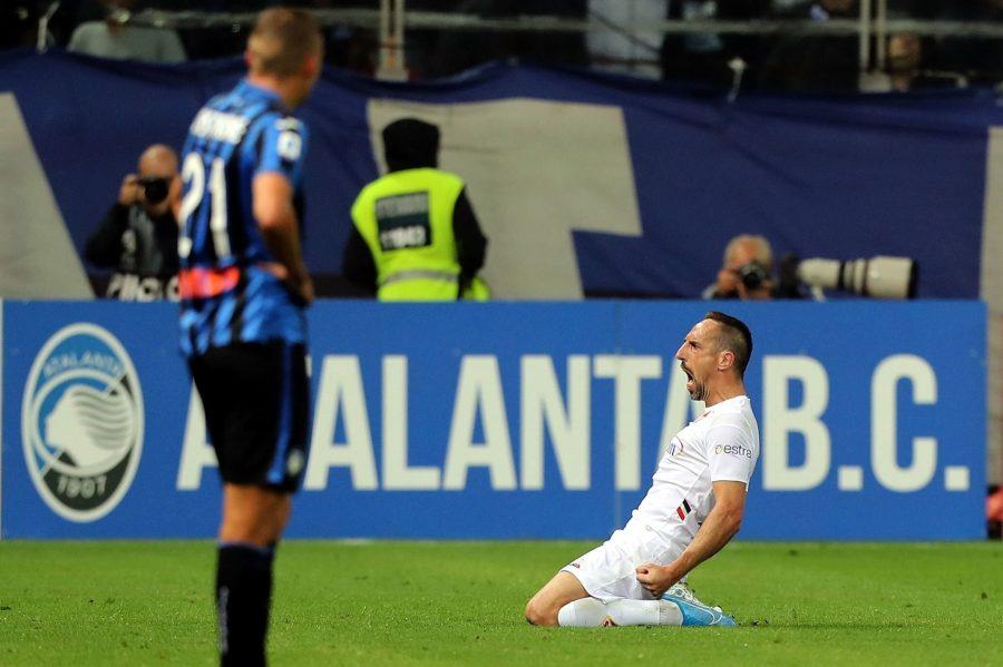 Fiorentina : Franck Ribery ouvre son compteur avec la Viola