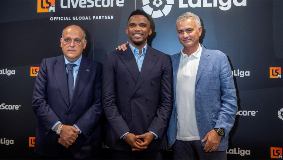 Samuel Eto'o fait l'éloge de son ancien entraîneur José Mourinho