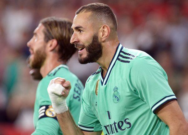 Karim Benzema reçu cinq sur cinq
