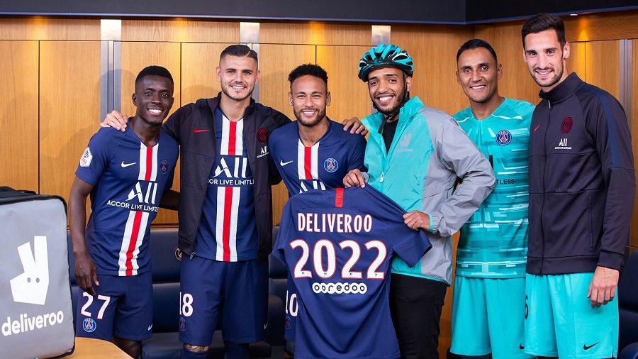 Le PSG s'offre un partenariat avec Deliveroo