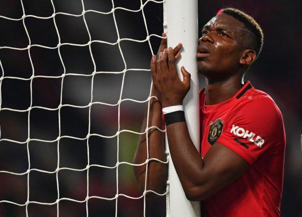 Man Utd : Pogba encore absent au moins un mois