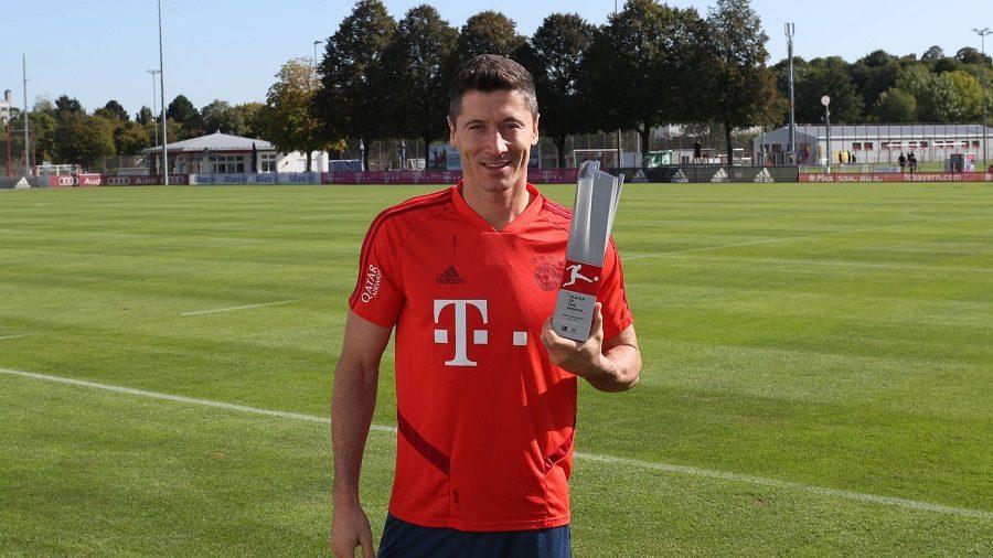 Bundesliga : Robert Lewandowski élu joueur du mois