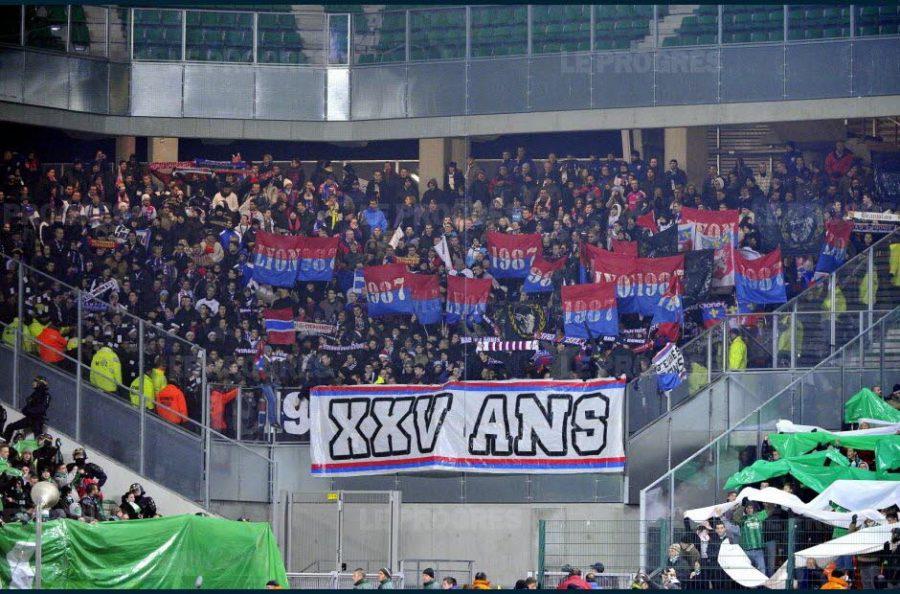 OL : les supporters lyonnais interdits de déplacement pour le derby face à l'ASSE