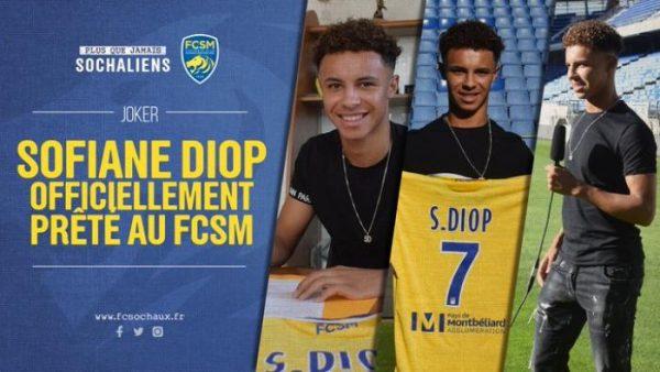 Officiel : Diop signe à Sochaux