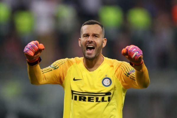 Samir Handanovic pourrait finir sa carrière à l'Inter Milan