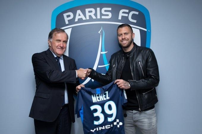 Officiel : Ménez rejoint le Paris FC