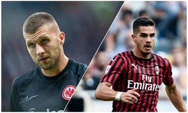 Officiel : Rebic au Milan AC, André Silva à Francfort