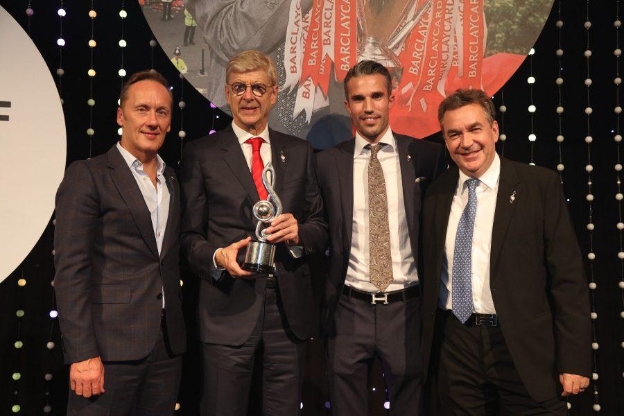Arsène Wenger introduit au Hall of Fame de Premier League