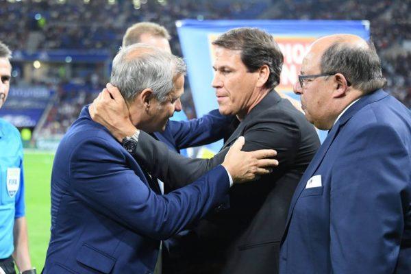 OL : Bruno Genesio apporte son soutien à Rudi Garcia