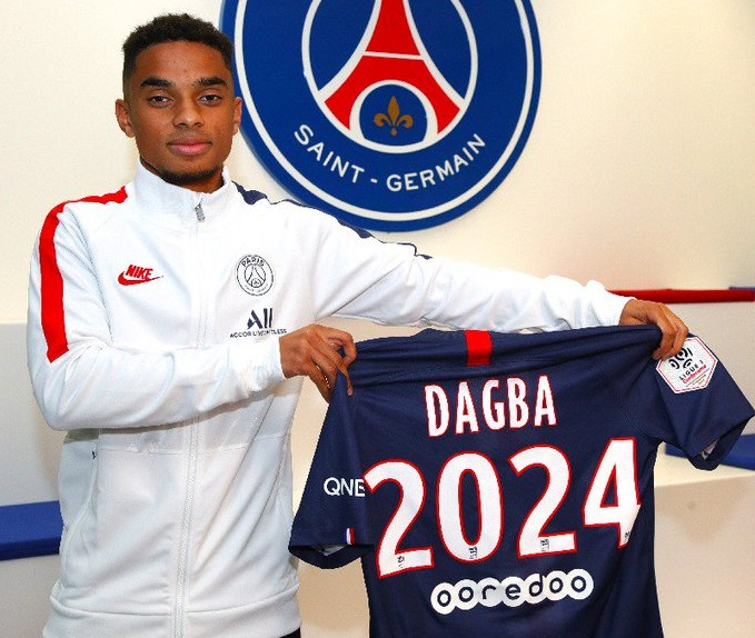 Officiel : Colin Dagba prolonge au PSG - Transfert Foot Mercato