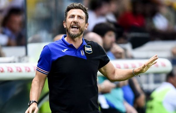 Officiel : la Sampdoria licencie Eusebio Di Francesco