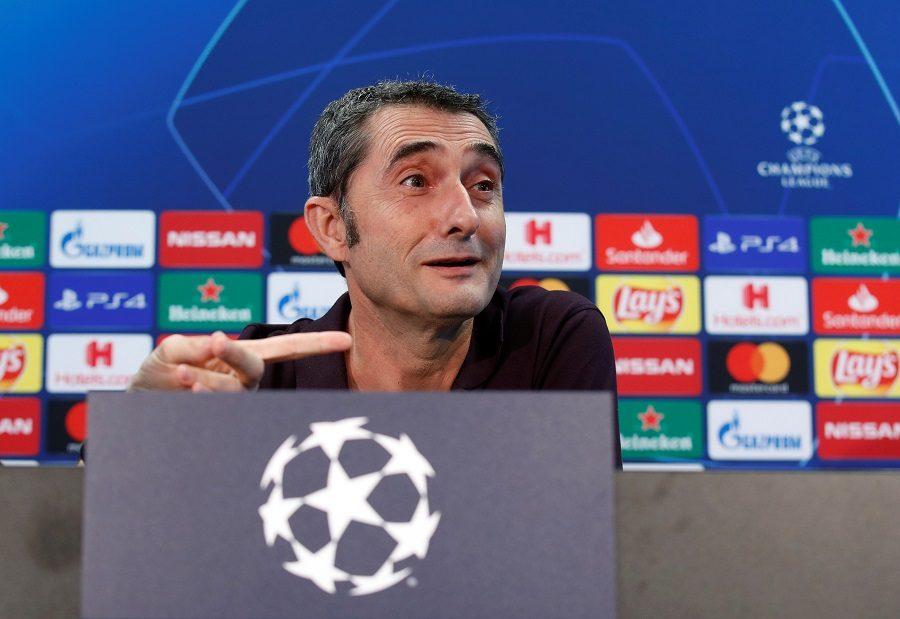 FC Barcelone : Ernesto Valverde est bien sur la sellette