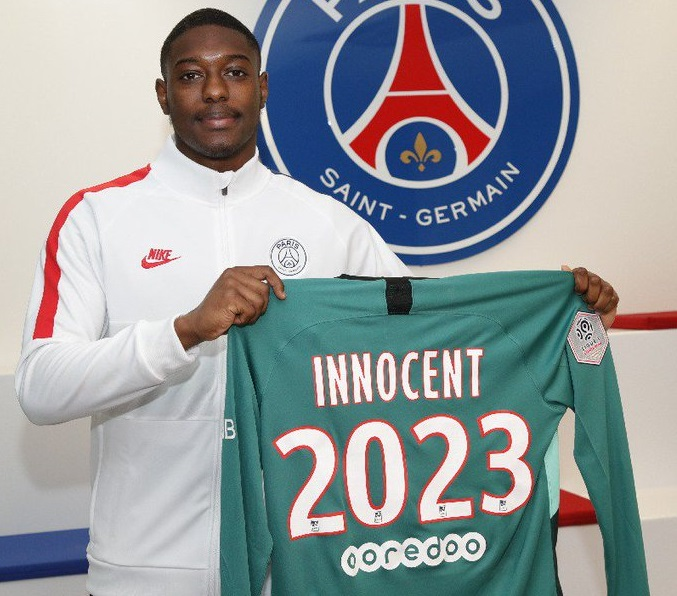 PSG : au tour de Garissonne Innocent de prolonger