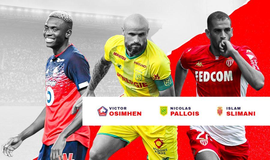Ligue 1 : les joueurs du mois de septembre sont connus