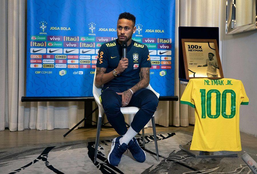Neymar à 100% avec le Brésil… et le PSG