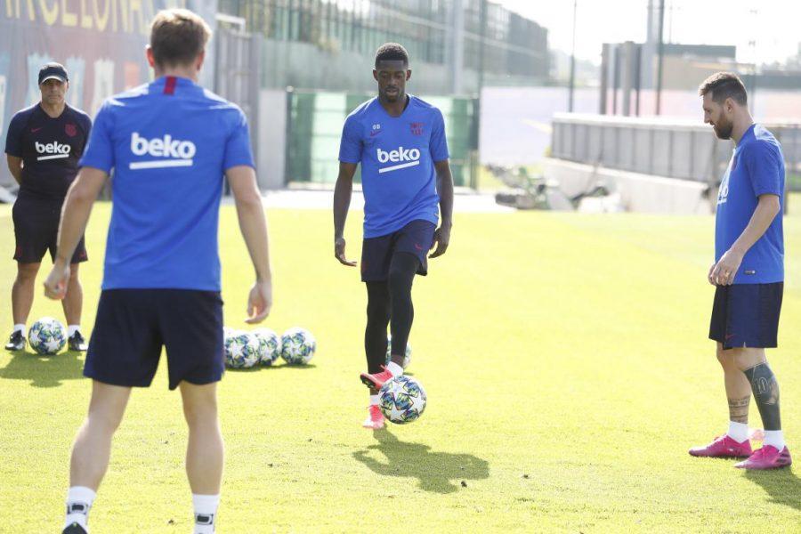 FC Barcelone : Ousmane Dembélé manquera le Clasico