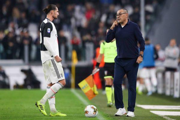 Juventus : Maurizio Sarri satisfait des progrès d'Adrien Rabiot