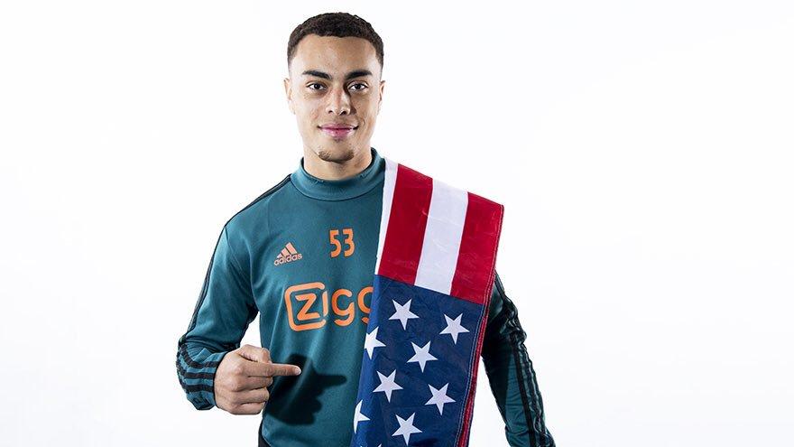 L'Ajax compte un nouvel international américain