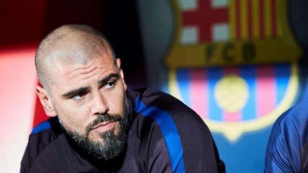 FC Barcelone : Victor Valdès n'est plus l'entraîneur des jeunes blaugranas