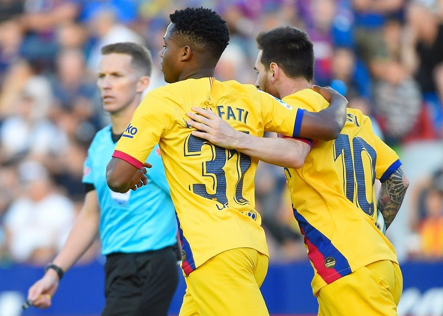 Le Barça veut blinder Ansu Fati