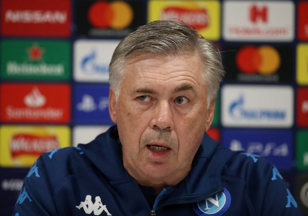 Carlo Ancelotti ne quittera pas Naples de lui-même